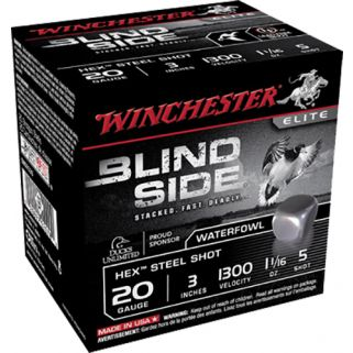 "Winchester Blindside 20 Gauge 5 Shot 3"" 25 Round Box SBS2035"