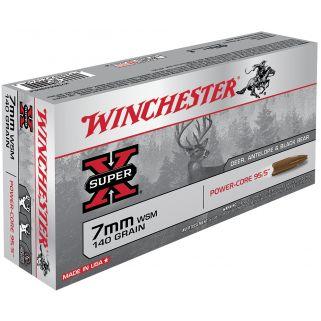 Winchester Super-X 7mmWSM 140 Grain 20 Round Box X7MMWSMLF