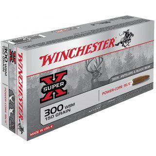 Winchester Super-X 300WSM 150 Grain 20 Round Box X300WSMLF