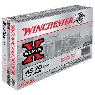 Winchester 45-70GOVT 405 Grain Brass 20 Round Box X4570CB