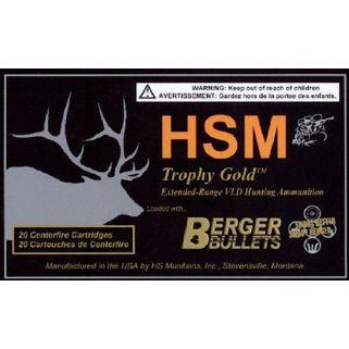 HSM BER7STW168VLD 7MMSTW 168 HPBT VLD 20/20