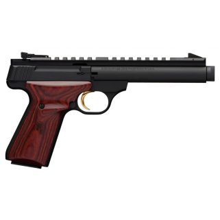 "Browning Buck Mark Field Target 22LR 5.5"" Barrel 10+1 Rosewood Grips/Matte Blued 051527490"