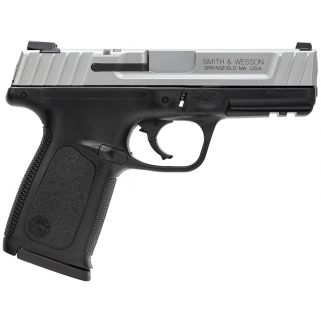 "Smith & Wesson SD9 VE 9mm 4"" Barrel 16+1 Black/Stainless 223900"