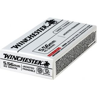 Winchester USA 5.56NATO 45 Grain 20 Round Box USA556JF