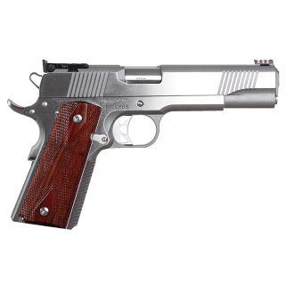 "Dan Wesson 1911 Pointman Nine 9mm 5"" Barrel W/ Adjustable Sights 9+1 Wood Grip/Stainless 01909"
