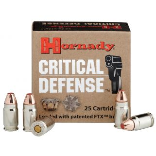 Hornady Critical Defense 32NAA 80 Grain FTX 25 Round Box 90070
