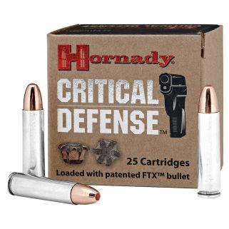 Hornady Critical Defense 30 Carbine 110 Grain FTX 25 Round Box 81030