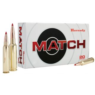 Hornady Match 223 Remington 68 Grain BTHP 20 Round Box 80289
