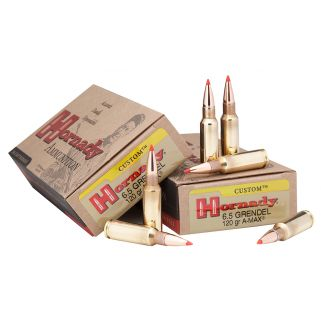 Hornady Custom 6.5mm Grendel 123 Grain SST 20 Round Box 8152