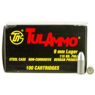 TULA TA919100 9MM 115FMJ 100/10