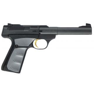 """Browning Buck Mark Camper UFX 22LR 5.5"""" Barrel W/ Pro Target Sights 10+1 Textured Grey Grips/Matte Blued 051482490"""