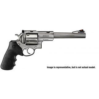 """Ruger Super Redhawk Standard 480 Ruger 7.5"""" Barrel 6Rd Black Hogue Tamer Monogrip/Stainless Steel 5507"""