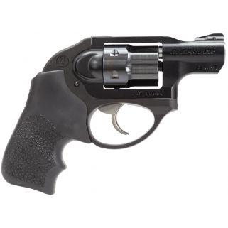 "Ruger LCR DAO 22 Magnum Rimfire 1.87"" Barrel 6Rd Black Hogue Tamer Monogrip/Black 5414"