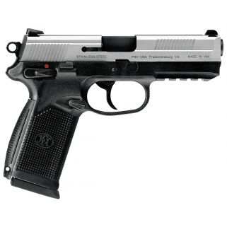 "FN FNX-45 45ACP 4.5"" Barrel W/ 3 Dot Sights 10+1 Black-Stainless 66963"