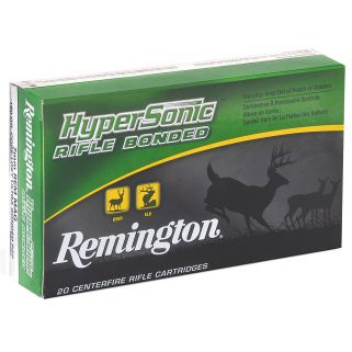 Remington HyperSonic Rifle Bonded 30-06 Springfield 150 Grain Brass 20 Round Box PRH3006A