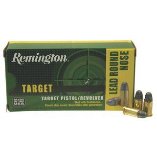 Remington Target 38 Special 158 Grain Brass 50 Round Box RTG38S5