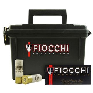 "Fiocchi Field Box 12 Gauge 00 Buck 2.75"" 80 Round Box 12FLE00B"
