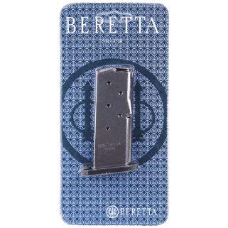 Beretta Nano BU9 9mm Luger Magazine 6Rd Stainless JM6NANO9