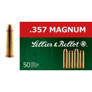 S&B SB357L 357 MAG 158 LFN 50/20