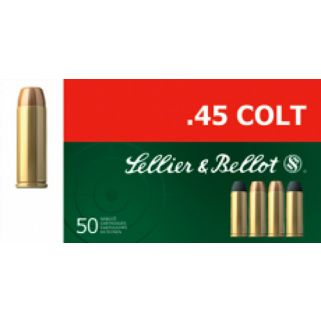 S&B SB45D 45 COLT 250 LFN 50/12