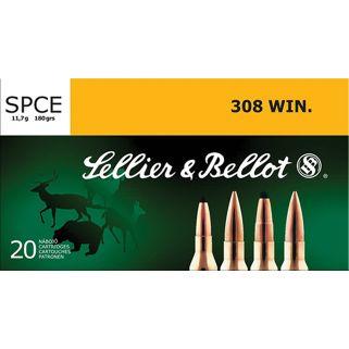 S&B SB308F 308 WIN 180 SPCE 20/25