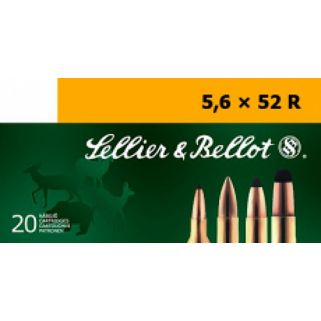 S&B SB5652RB 5.56X52R 70 FMJ 20/25