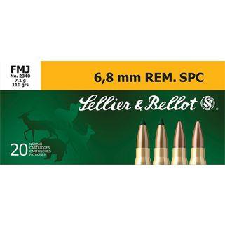 S&B SB68C 6.8 REM 110 FMJ 20/50