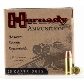 Hornady Custom 25ACP 35 Grain JHP 25 Round Box 90012