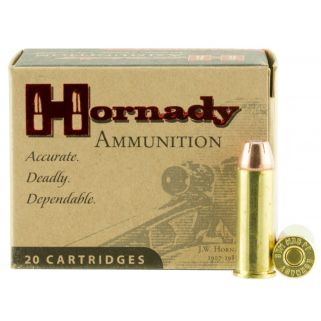 Hornady Custom 44 Remington Magnum 200 Grain XTP 20 Round Box 9080