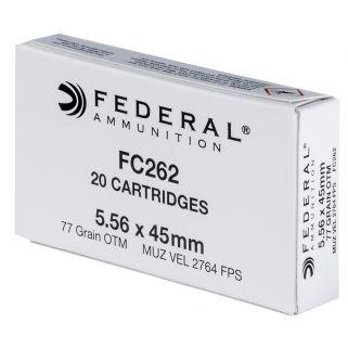 FED FC262 5.56X45 NATO 77 OTM 20/10