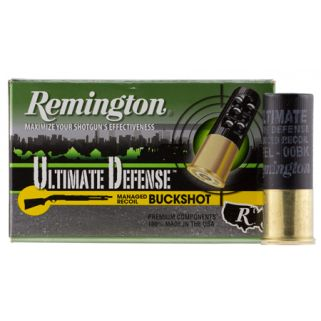Remington Ultimate Defense Buckshot 12 Gauge 00 Buck 5 Round Buck 12B008RRHD