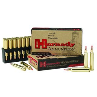 Hornady Superformance Varmint 204 Ruger 32 Grain V-Max 20 Round Box 83204