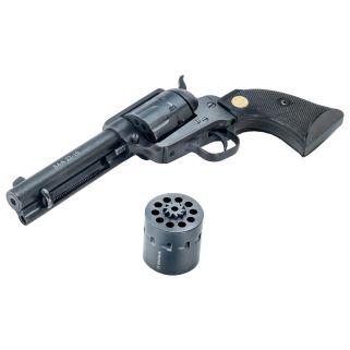 "Chiappa 1873 22-10 22LR/22WMR 4.75"" Barrel W/ Blade Sights 10Rd Blued CF340155D"