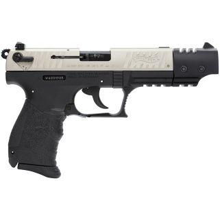 "Walther P22 22LR Nickel Target 5"" Barrel 10+1 5120326"