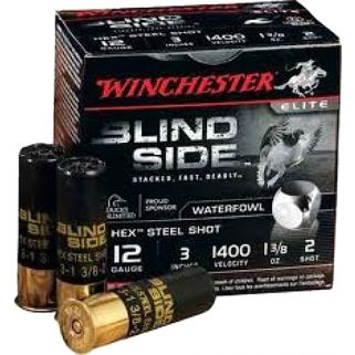 "Winchester Blindside 12 Gauge 2 Shot 3"" 100 Round Ammo Can SBS1232VP"