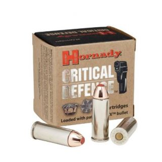 Hornady Critical Defense 9mm 115GR 25Rd Box 90250