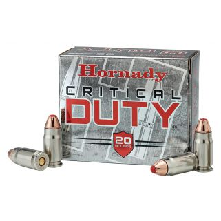 Hornady Critical Duty 357SIG 135 Grain FlexLock 20 Round Box 91296