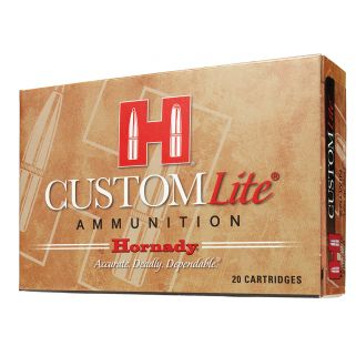 Hornady Custom Lite 30-30WIN 150 Grain RN 20 Round Box 80806