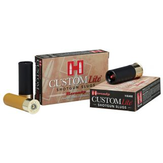 "Hornady Custom Lite 20 Gauge Slug Shot 2.75"" 5 Round Box 86233"