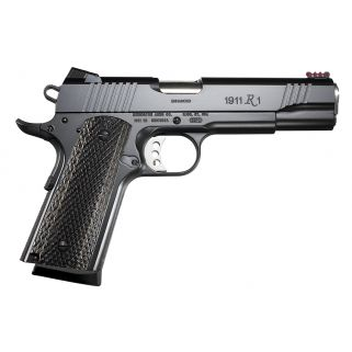 "Remington 1911 R1 Enhanced 9mm Luger 5"" Barrel W/ Fiber Optic Sights 9+1 Laminate Grip/Black 2 Mags 96364"