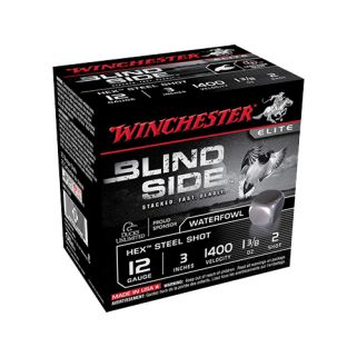 "Winchester Blindside 12 Gauge BB Shot 3"" 25 Round Box SBS123HVBB"