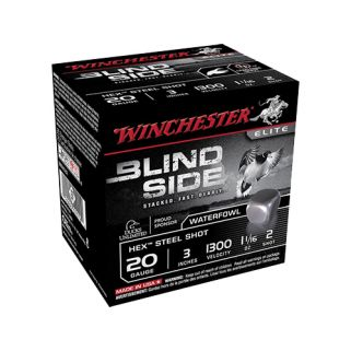 "Winchester Blindside 20 Gauge 3 Shot 3"" 25 Round Box SBS203HV3"