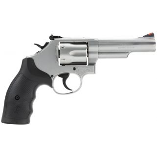 "Smith & Wesson 66 K-Frame 357 Magnum 4.25"" Barrel 6Rd Black Synthetic Grip/Stainless 162662"