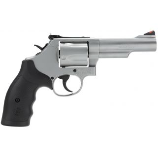 "Smith & Wesson 69 L-Frame 44 Remington Magnum 4.25"" Barrel 5Rd Black Synthetic Grip/Stainless 162069"