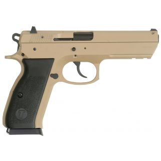 "TriStar T-120 9mm 4.7"" Barrel W/ Dovetail Rear Sights 17+1 Desert Sand Cerakote 85096"