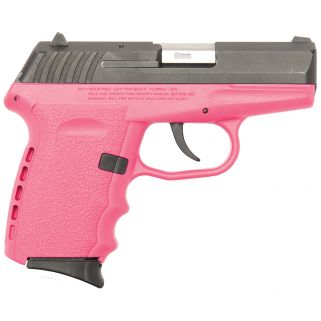SCCY CPX2CBPK 9MM 3.1 CRB NMS 10 PNK
