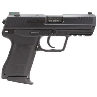 "Heckler & Koch HK45C Compact V7 LEM 45ACP 3.9"" Barrel W/ Night Sights 8+1 745037LEA5"
