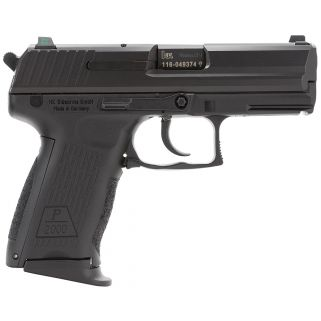 "Heckler & Koch P2000 V3 9mm Luger 3.66"" Barrel W/ Night Sights 13+1 3 Mags 709203LEA5"