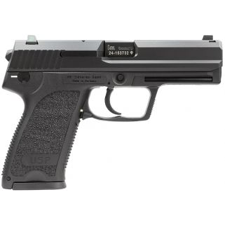 "Heckler & Koch USP9 Standard V7 LEM 9mm Luger 4.3"" Barrel W/ Night Sights 15+1 3 Mags 709007LEA5"