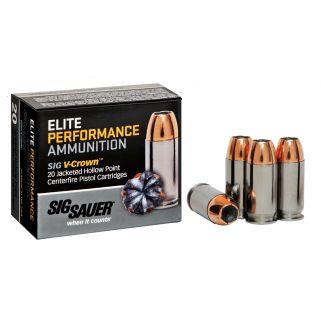 Sig Sauer V-Crown 357 Magnum 125GR 20Rd Box E357S120